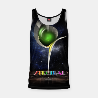 Thumbnail image of Spectral ZMO Fractal Art Composition Tank Top, Live Heroes