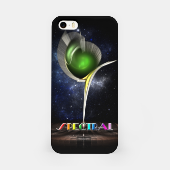 Thumbnail image of Spectral ZMO Fractal Art Composition iPhone Case, Live Heroes