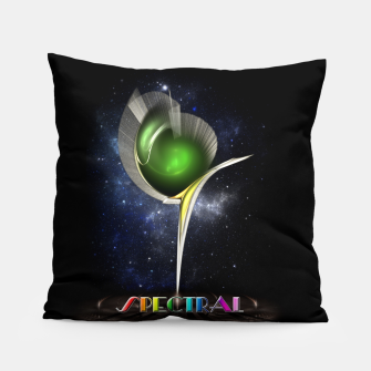 Thumbnail image of Spectral ZMO Fractal Art Composition Pillow, Live Heroes
