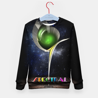 Thumbnail image of Spectral ZMO Fractal Art Composition Kid's sweater, Live Heroes