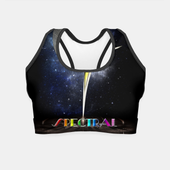Thumbnail image of Spectral ZMO Fractal Art Composition Crop Top, Live Heroes