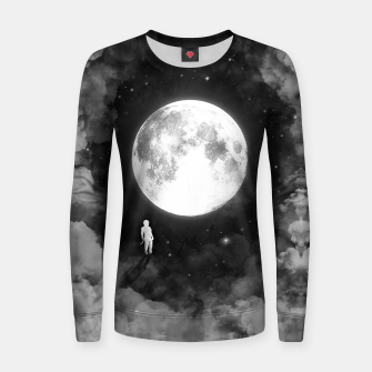 Thumbnail image of Lunar Confrontation Woman cotton sweater, Live Heroes