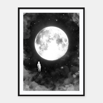 Thumbnail image of Lunar Confrontation Framed poster, Live Heroes