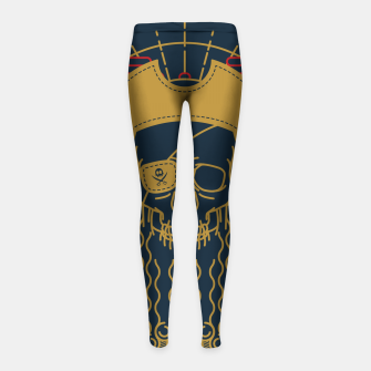 Miniaturka Pirate Line Girl's leggings, Live Heroes