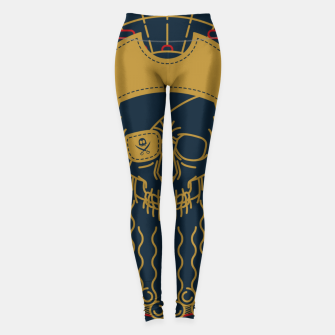 Miniaturka Pirate Line Leggings, Live Heroes