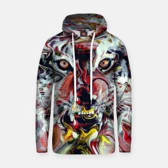 Thumbnail image of Tiger Cotton hoodie, Live Heroes