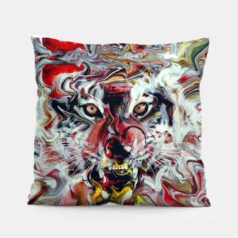 Thumbnail image of Tiger Pillow, Live Heroes