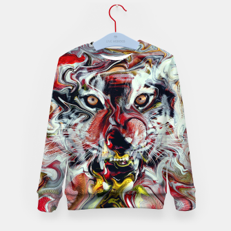 Thumbnail image of Tiger Kid's sweater, Live Heroes