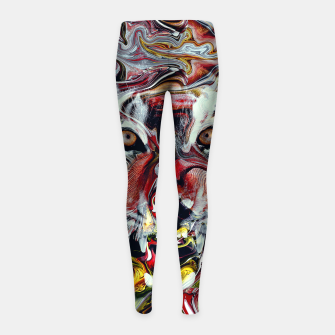Thumbnail image of Tiger Girl's leggings, Live Heroes