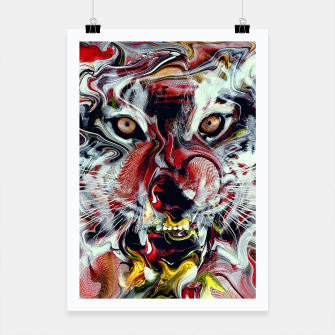 Thumbnail image of Tiger Poster, Live Heroes