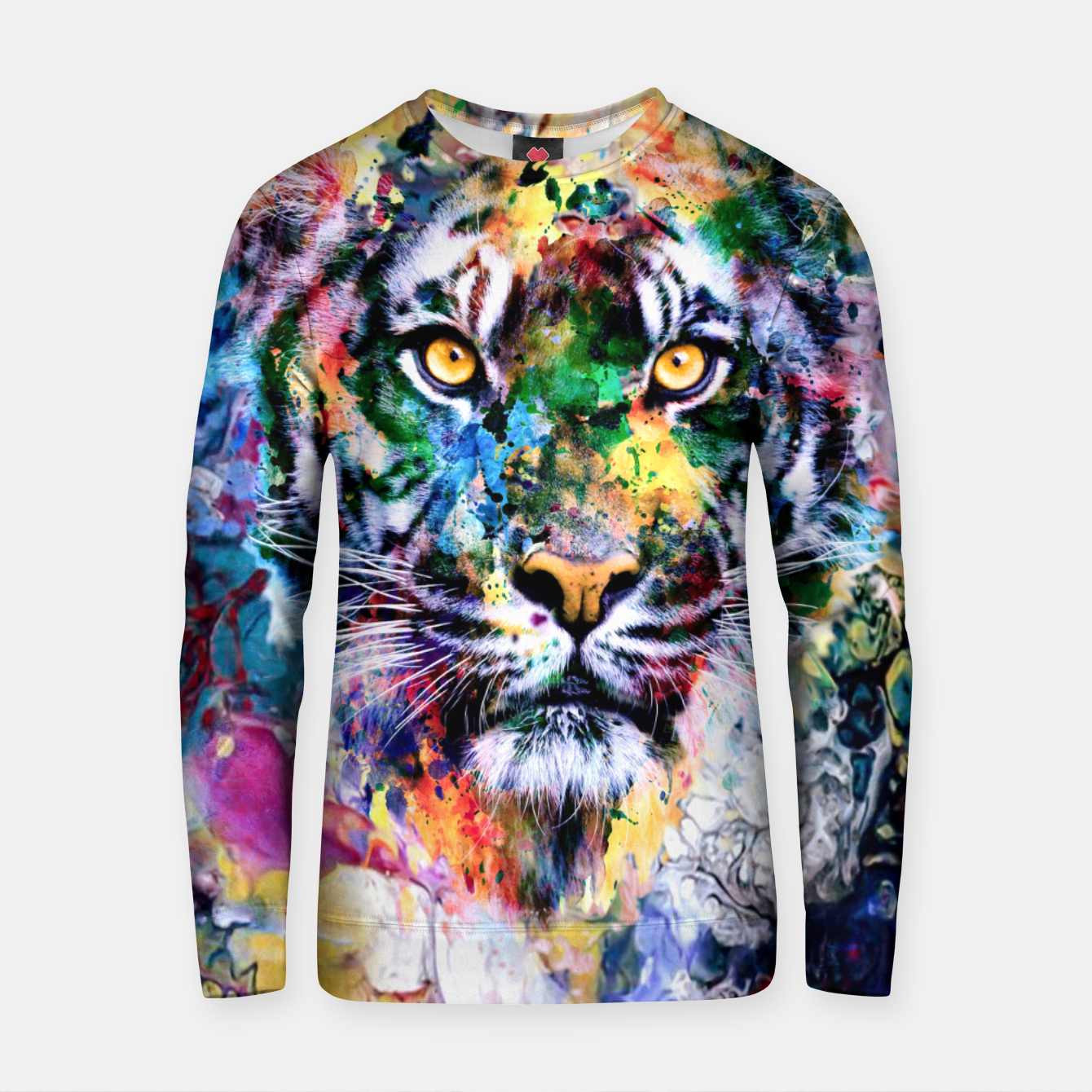 Image of Tiger II Cotton sweater - Live Heroes