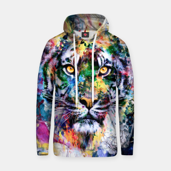 Thumbnail image of Tiger II Cotton hoodie, Live Heroes