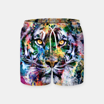 Thumbnail image of Tiger II Swim Shorts, Live Heroes