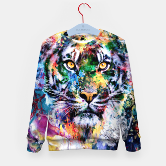 Thumbnail image of Tiger II Kid's sweater, Live Heroes