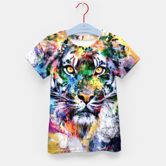 Thumbnail image of Tiger II Kid's t-shirt, Live Heroes