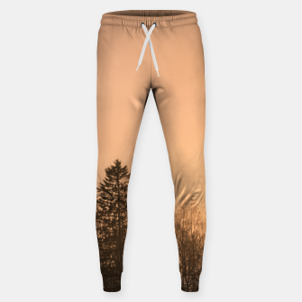 Miniatur Orange afternoon Cotton sweatpants, Live Heroes