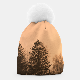 Miniatur Orange afternoon Beanie, Live Heroes
