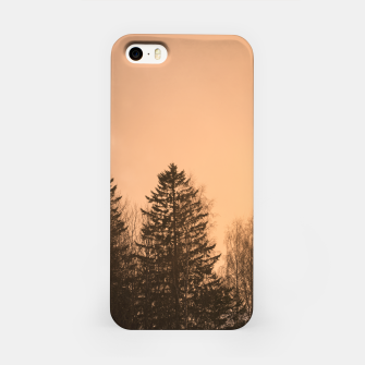 Miniatur Orange afternoon iPhone Case, Live Heroes