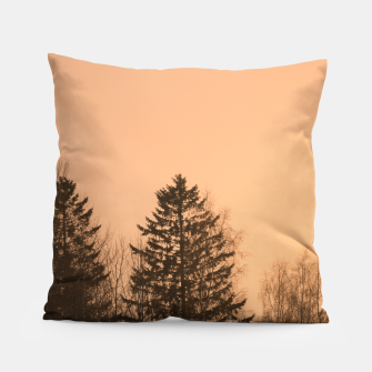 Miniatur Orange afternoon Pillow, Live Heroes