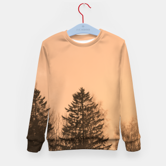 Miniatur Orange afternoon Kid's sweater, Live Heroes