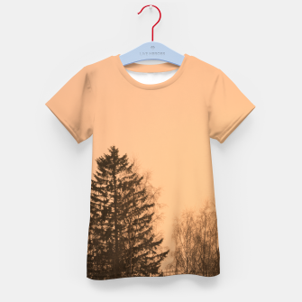 Miniatur Orange afternoon Kid's t-shirt, Live Heroes