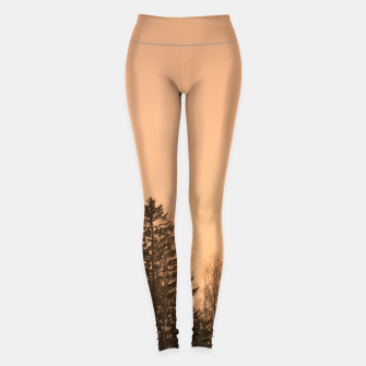 Miniatur Orange afternoon Leggings, Live Heroes