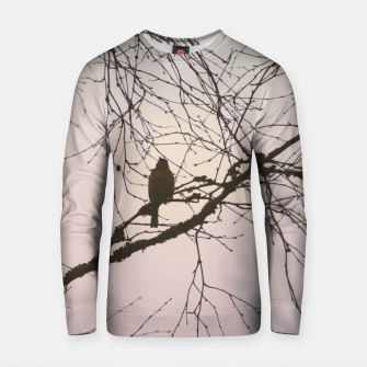 Miniatur Bird and branches Cotton sweater, Live Heroes