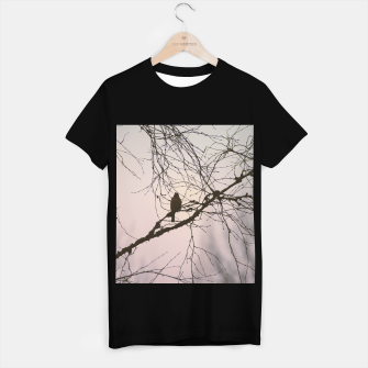 Miniatur Bird and branches T-shirt regular, Live Heroes
