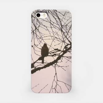 Miniatur Bird and branches iPhone Case, Live Heroes