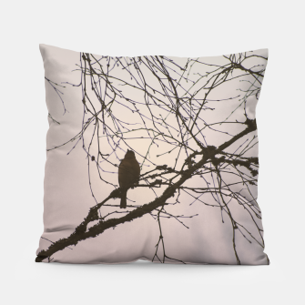 Miniatur Bird and branches Pillow, Live Heroes