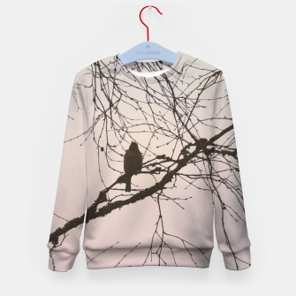 Miniatur Bird and branches Kid's sweater, Live Heroes