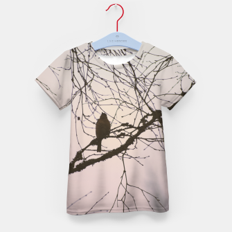 Miniatur Bird and branches Kid's t-shirt, Live Heroes