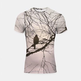 Miniatur Bird and branches Shortsleeve rashguard, Live Heroes