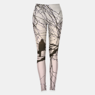 Miniatur Bird and branches Leggings, Live Heroes