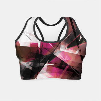 Thumbnail image of  Echos of Expansion  - Geometric Abstract Art Crop Top, Live Heroes