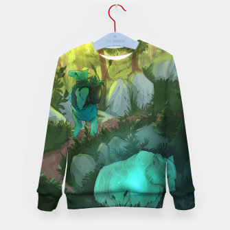 Thumbnail image of Path Kid's sweater, Live Heroes