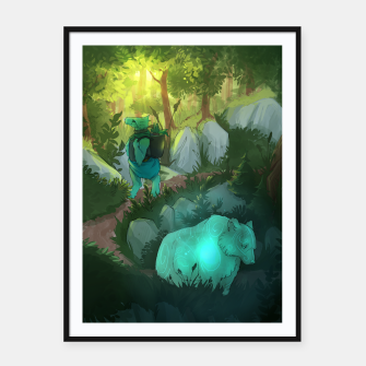 Thumbnail image of Path Framed poster, Live Heroes