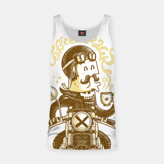 Thumbnail image of Coffeeracer Tank Top, Live Heroes