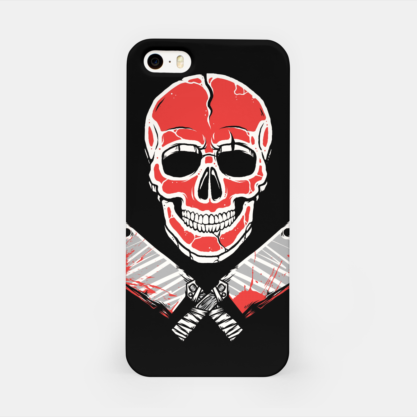 Image of Skull Meat iPhone Case - Live Heroes