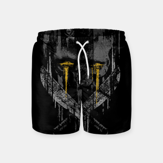 Miniaturka Pirate Rust Swim Shorts, Live Heroes