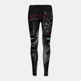 Miniatur Death Pilot Girl's leggings, Live Heroes