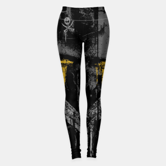 Miniaturka Pirate Rust Leggings, Live Heroes