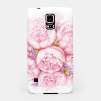 Thumbnail image of Pink Peonies Samsung Case, Live Heroes
