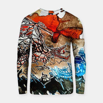 Thumbnail image of Rising Dragen Cotton sweater, Live Heroes