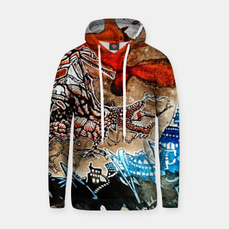 Thumbnail image of Rising Dragen Cotton hoodie, Live Heroes