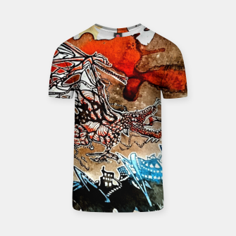 Thumbnail image of Rising Dragen T-shirt, Live Heroes