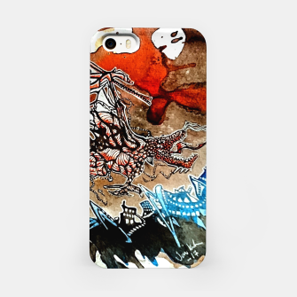 Thumbnail image of Rising Dragen iPhone Case, Live Heroes