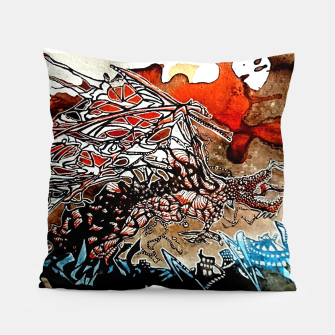 Thumbnail image of Rising Dragen Pillow, Live Heroes