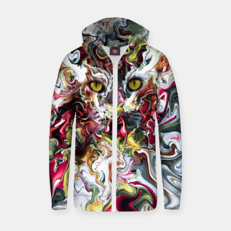 Thumbnail image of Wildcat Cotton zip up hoodie, Live Heroes