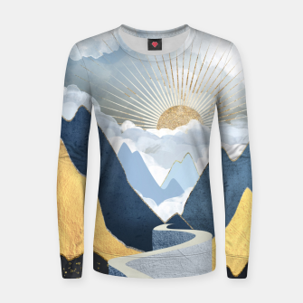 Thumbnail image of Bright Future II Woman cotton sweater, Live Heroes